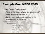 example one meeg 230314