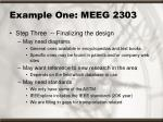 example one meeg 230316