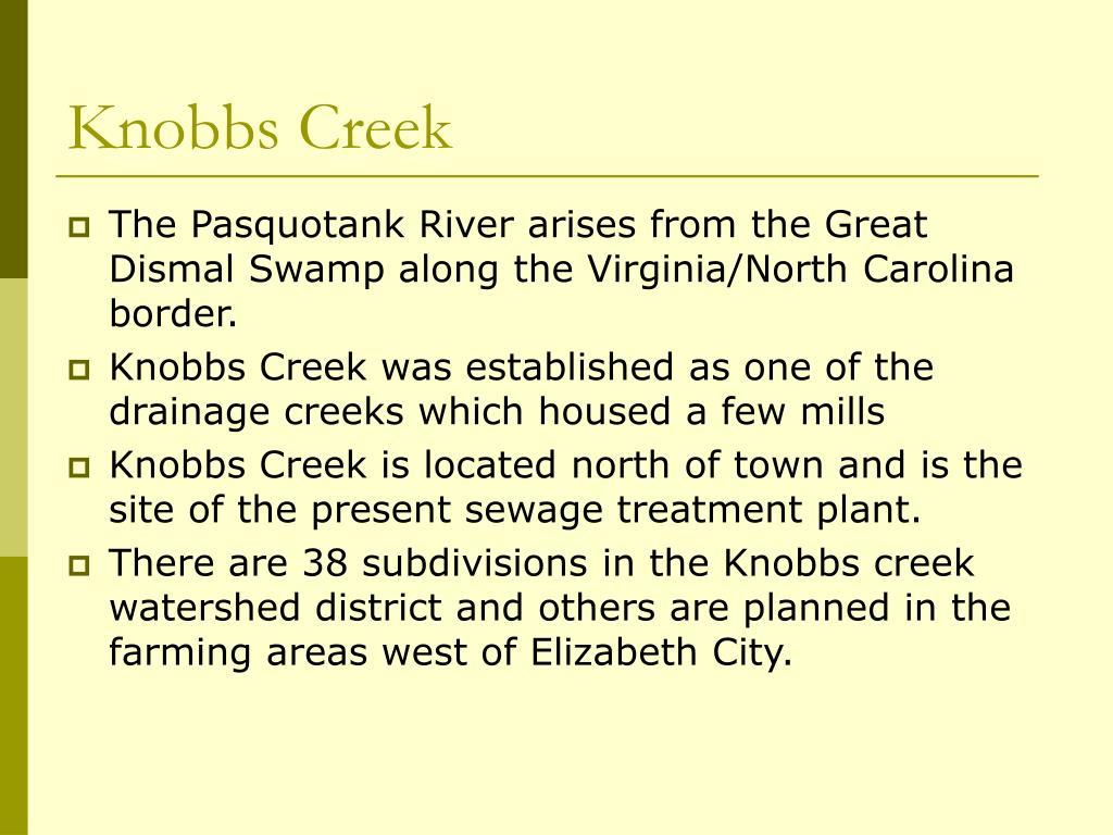 Knobbs Creek