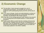 2 economic change