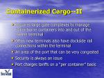 containerized cargo ii