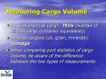 measuring cargo volume