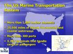 the us marine transportation system