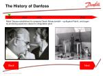 the history of danfoss