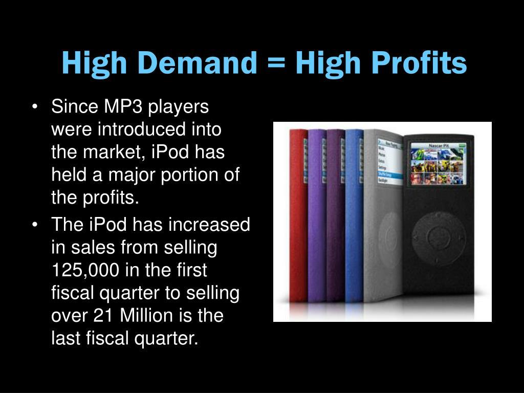 High Demand = High Profits