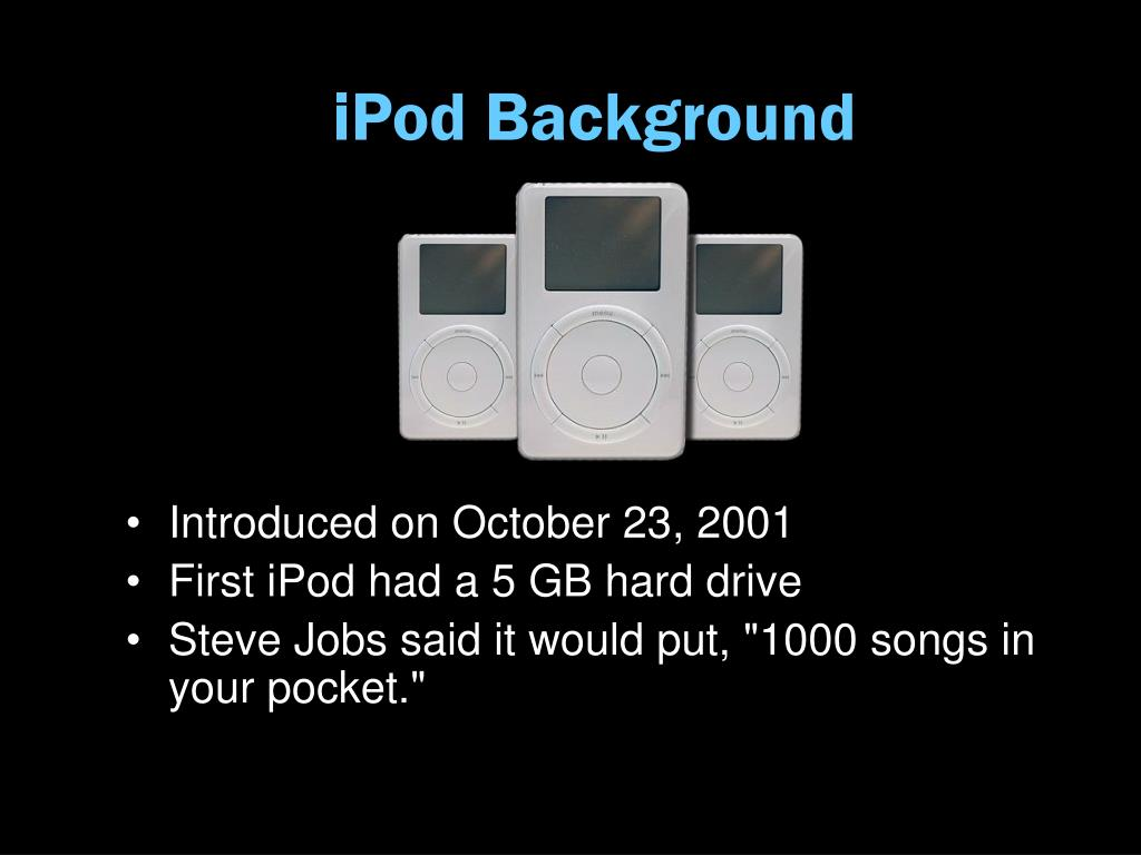 iPod Background