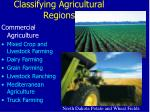 classifying agricultural regions14