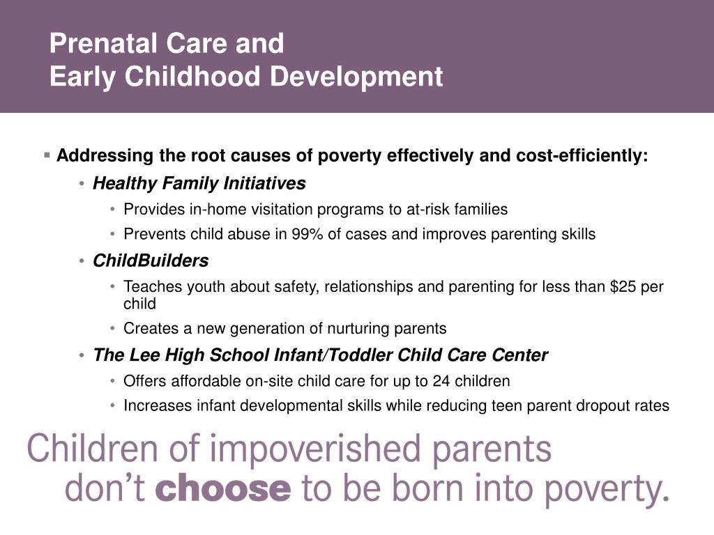 Prenatal Care and