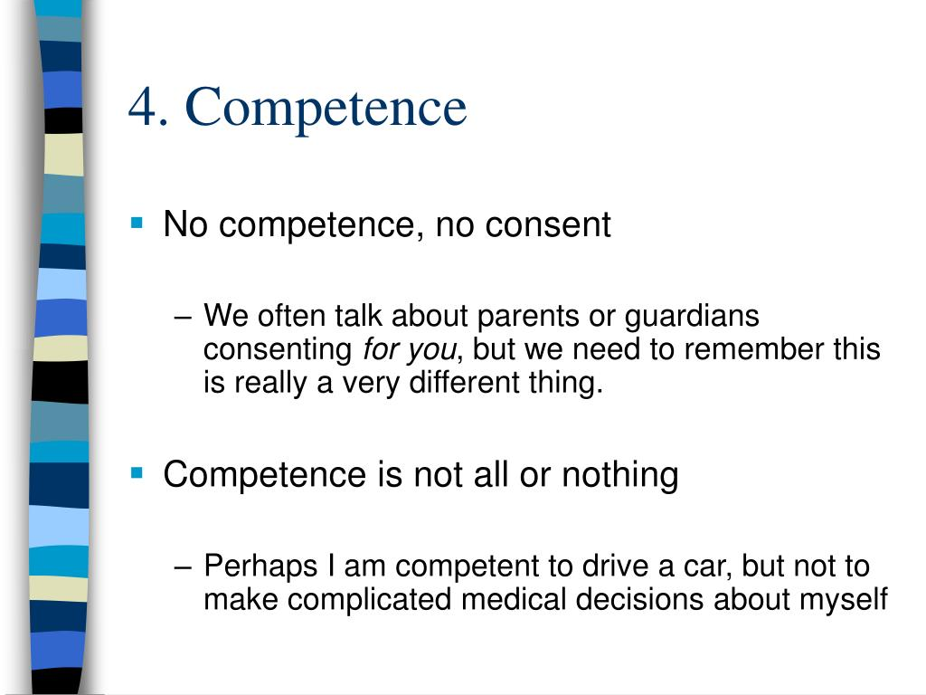 4. Competence