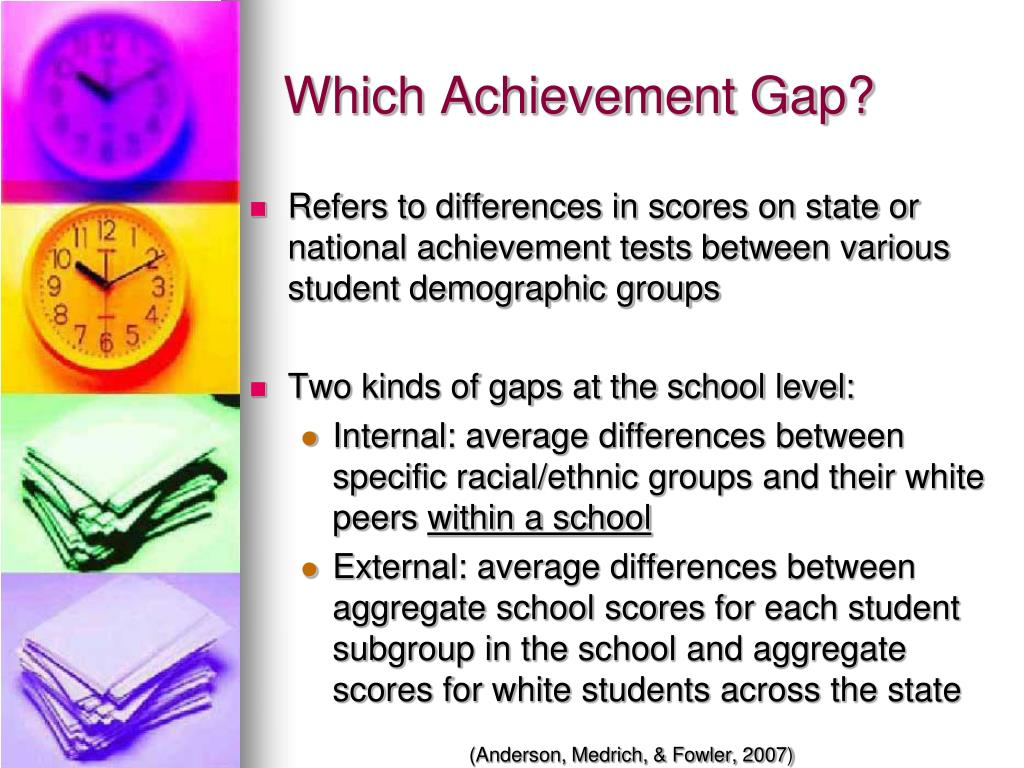 Which Achievement Gap?