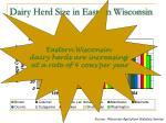 dairy herd size in eastern wisconsin10