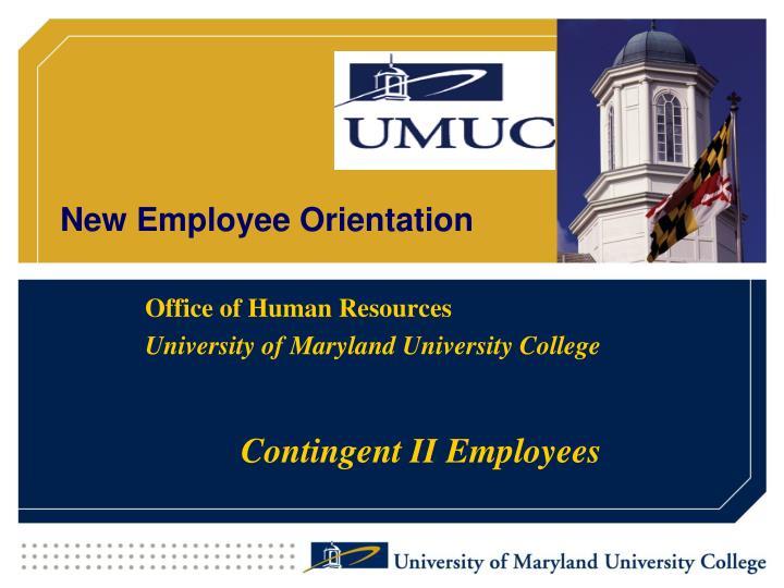 new employee orientation n.