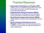 financial resources23