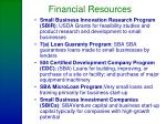 financial resources24
