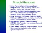 financial resources25