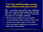 3 14 the relationships among three dimensional rural issues