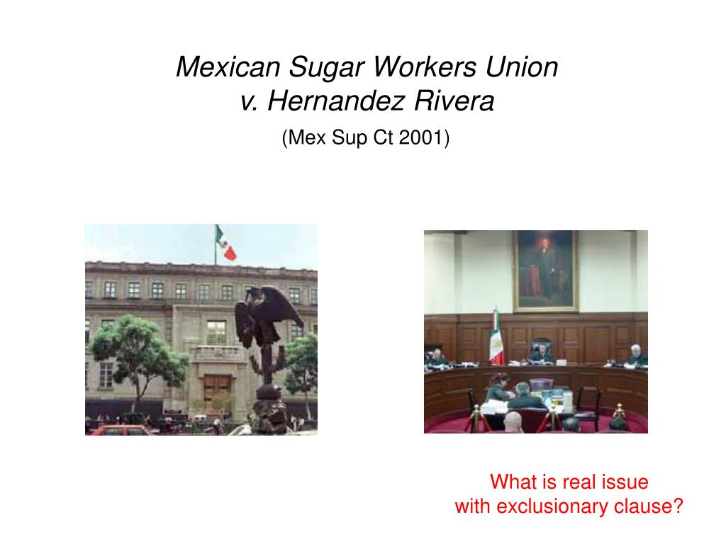 Mexican Sugar Workers Union
