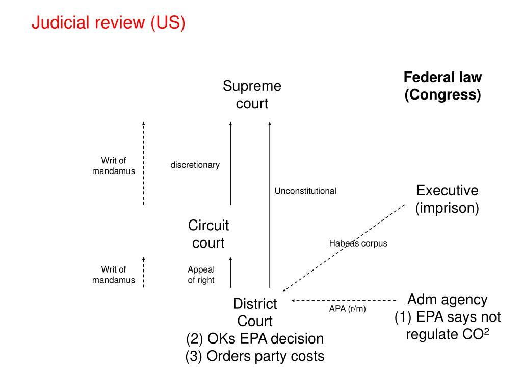 Judicial review (US)