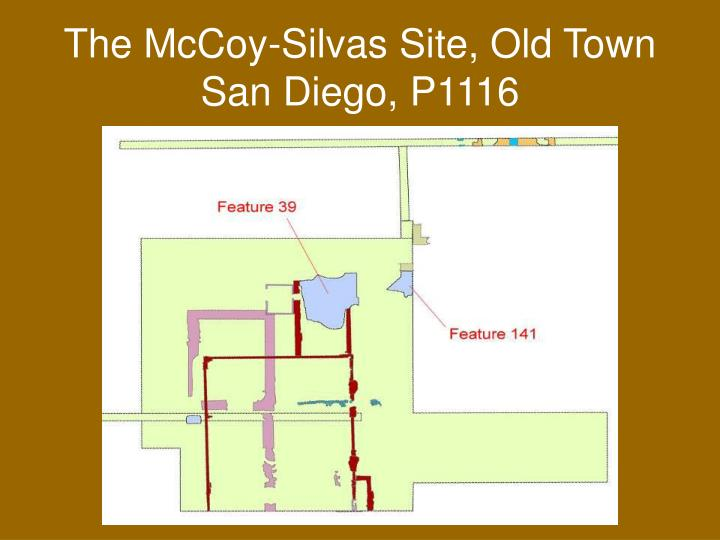 The mccoy silvas site old town san diego p1116