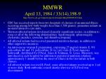 mmwr april 13 1984 33 14 198 9 http www cdc gov mmwr preview mmwrhtml 00000319 htm