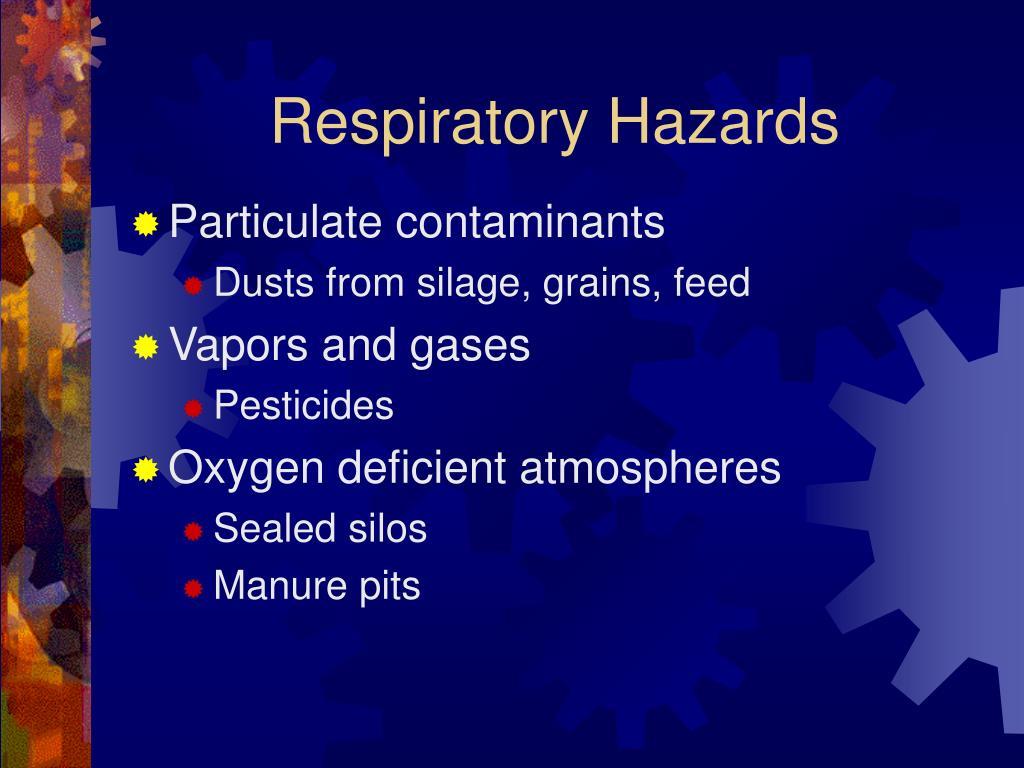 Respiratory Hazards