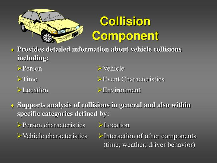 Collision component