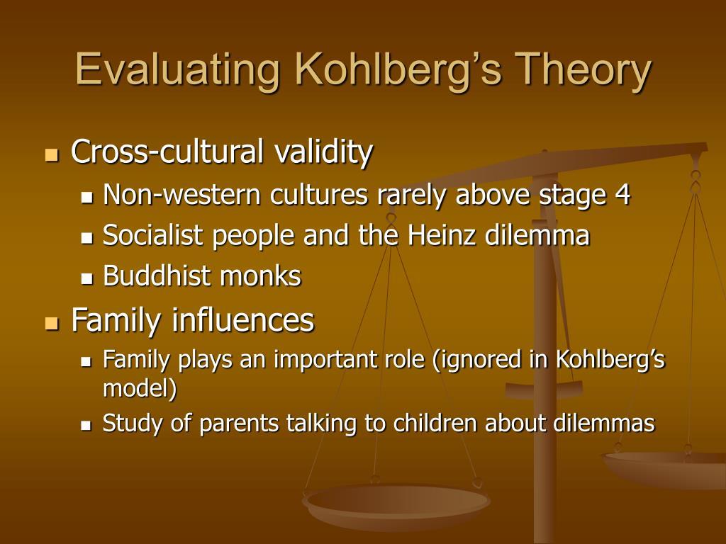 Evaluating Kohlberg's Theory