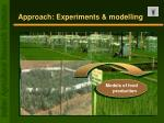 approach experiments modelling