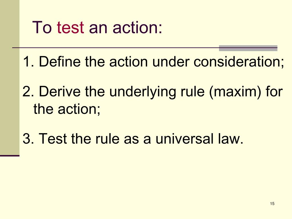 a comparison of kants universal law formation of the categorical imperative and mills utilitarianism Essay kant: the universal law formation of the categorical imperative kantian philosophy outlines the universal law formation of the categorical imperative as a method for determining morality of actions.