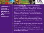 controversy 2 reforming development assistance to agriculture and rural development
