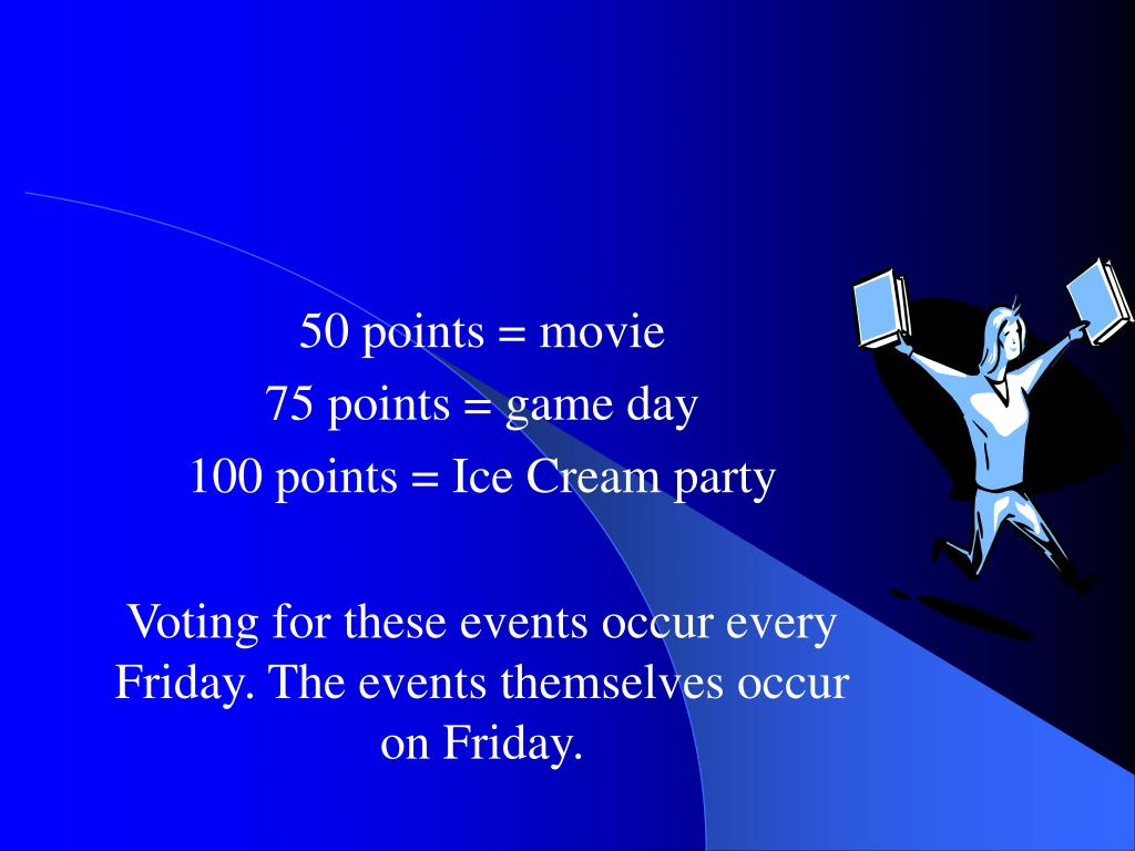 50 points = movie
