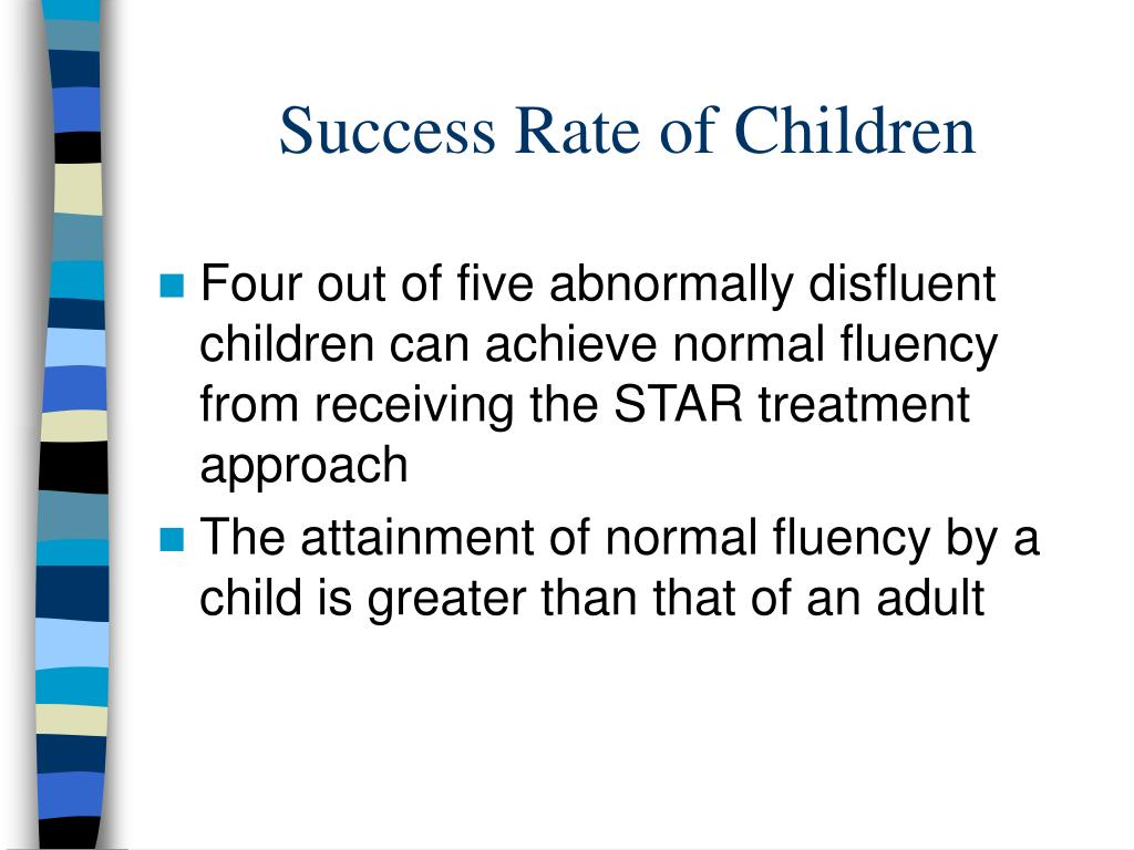Success Rate of Children