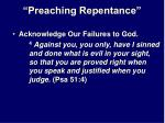 preaching repentance23