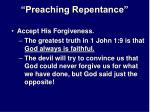 preaching repentance25