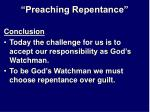 preaching repentance28