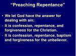 preaching repentance29