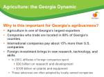agriculture the georgia dynamic40