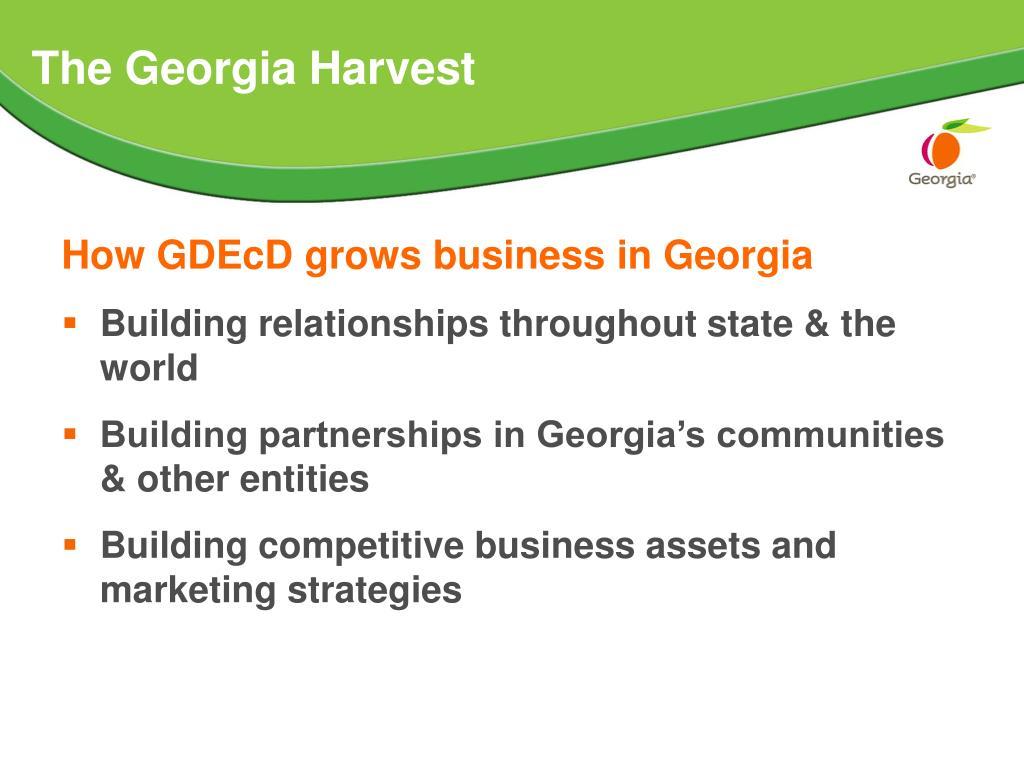 The Georgia Harvest