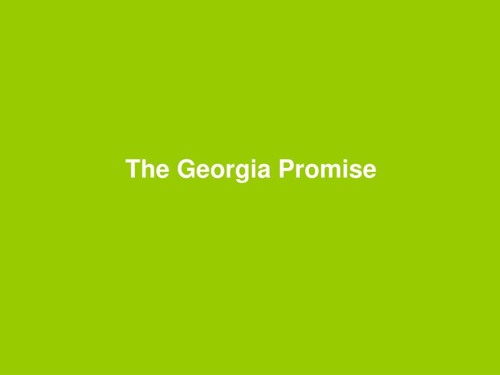 The Georgia Promise