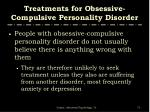 treatments for obsessive compulsive personality disorder