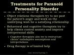 treatments for paranoid personality disorder15