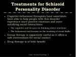 treatments for schizoid personality disorder20