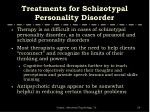 treatments for schizotypal personality disorder
