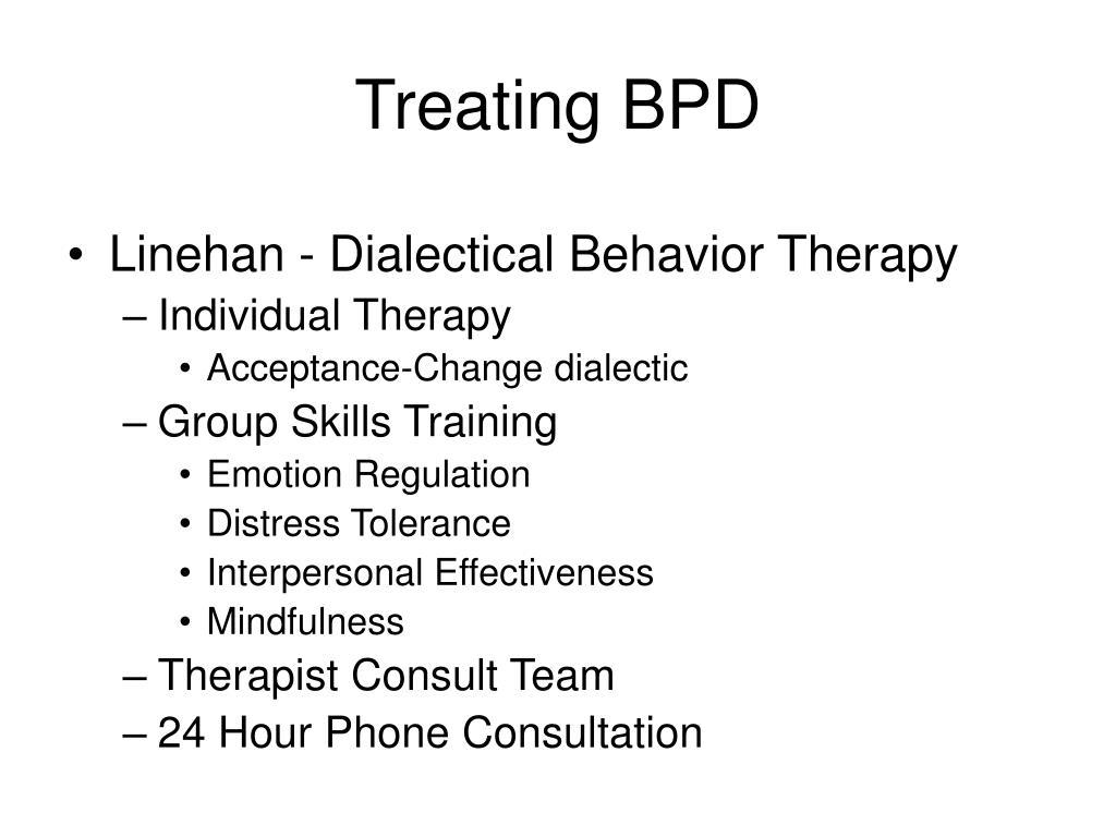 Treating BPD