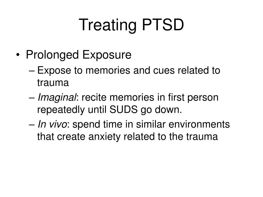 Treating PTSD