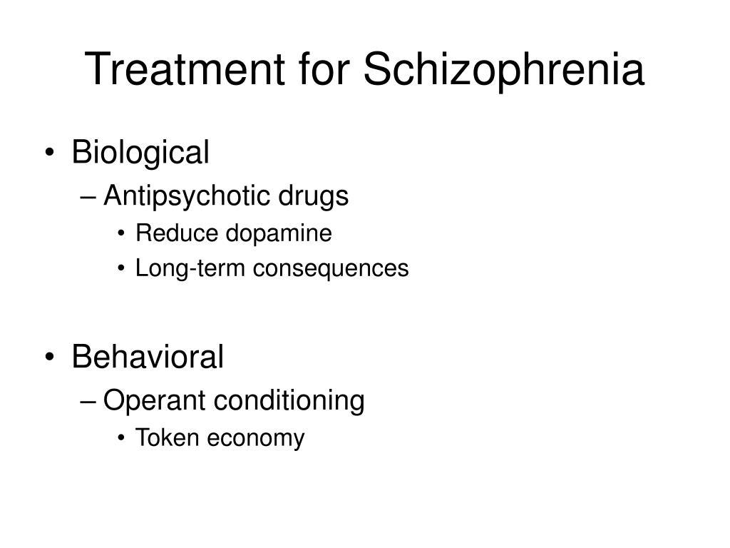 Treatment for Schizophrenia
