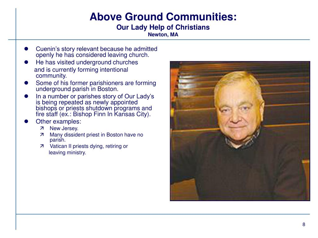 Above Ground Communities: