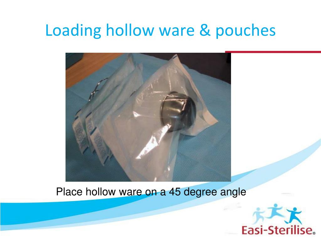 Loading hollow ware & pouches