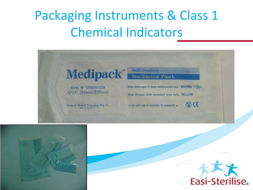 Packaging Instruments & Class 1 Chemical Indicators