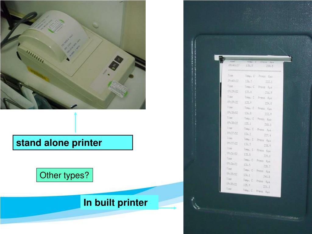 stand alone printer